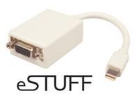 eSTUFF Mini Displayport - VGA Adapter