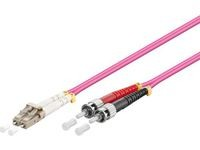 MicroConnect LC/UPC-ST/UPC 0.5m 50/125 OM4