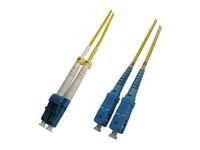 MicroConnect LC/UPC-SC/UPC 4M 9/125 LSZH