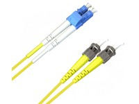 MicroConnect LC/UPC-ST/UPC 0.5m 9/125 OS2