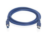 IOGEAR USB 3.0 A to B Cable, 2m