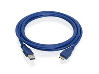IOGEAR USB 3.0 A to Micro B Cable, 2m