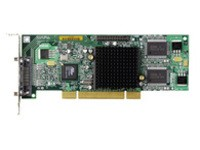 Matrox G550 LP PCI, 32 MB Single Pack