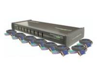 IOGEAR 8 Port KVM Switch: PS/2, 1U
