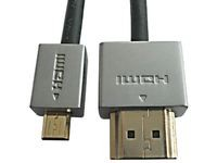 MicroConnect Slim HDMI A - Micro19 0.5M M-M