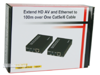 MicroConnect HDMI Extender Cat 5/6 100m