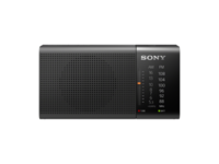 Sony Radio FM/AM Portable Black