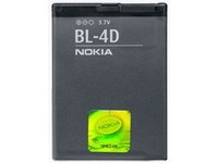 Nokia Battery BL-4D, 1200mAH, Li-ion