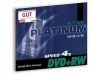 Platinum DVD+RW 4.7GB, 1 Pcs.