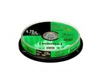 Intenso DVD-R 4.7GB, 16x, 10pcs