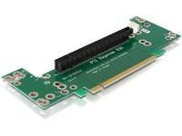Delock Riser Card PCIe x16 -> 90°ang.