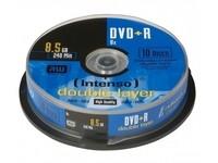 Intenso DVD+R 8.5GB, DL, 8x (10)