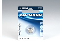ANSMANN Battery LR54, 1.5V, 50mAh
