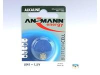 ANSMANN Battery LR 41, 1.5 V, Alkaline