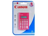 Canon AS-8V pocket calculator pink