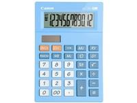 Canon AS-120V pocket calculator blue