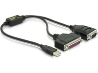 Delock USB zu Seriell/Parallel