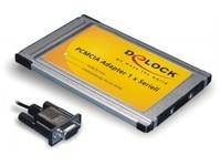 Delock PCMCIA Card 1x D-Sub9 (Cable)