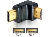 Delock HDMI male > HDMI male 90 down