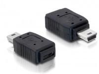Delock USB mini B -> micro A+B ma/fe