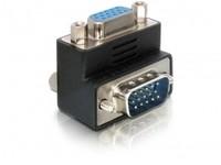 Delock VGA R-Angled Adaptor D-sub 15