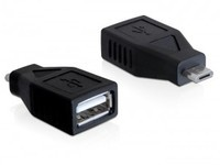 Delock USB micro-B M > USB 2.0-A F