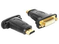 Delock HDMI A -> DVI(24+5) ma/fe