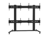 Multibrackets Public Video Wall stand 4-scr