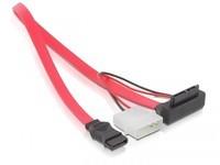 Delock SATA Cable Slim 0.3m