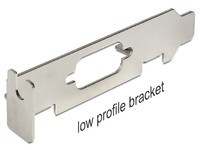 Delock Bracket Low Profile w/ D-Sub9
