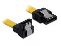 Delock SATA-Cable Metal under/Streigh