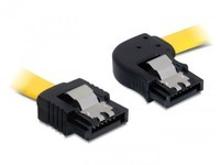 Delock SATA-Cable Metal right/Streigh