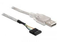 Delock USB 2.0-A male to pin header