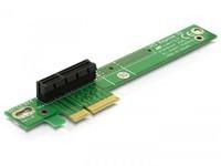 Delock Riser Card PCIe x4 -> 90° Ang.