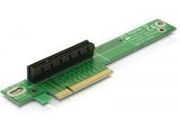 Delock Riser Card PCIe x8 -> 90° Ang.