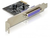 Delock Parallel PCI-E Card, LP
