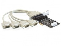 Delock 4 x serial w/power manag. PCIe