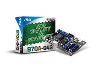 MSI 970A-G43 Socket AM3 970 ATX
