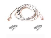 Belkin Cable Cat6 RJ45 White Snagless