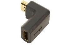 LogiLink HDMI 1.3b St/Bu 90d angled