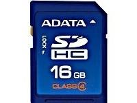 ADATA 16GB SDHC Class 4