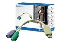 LogiLink USB A > PS/2  0.20m