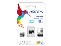 ADATA 8GB MicroSDHC CLASS10