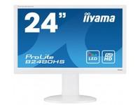 """Iiyama ProLite B2480HS, 23,6\"""", white"""