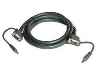 Kramer VGA Cable with Audio, 4,6m