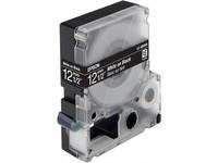 Epson Tape White on Black 12mm