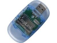 LogiLink USB Micro-SD/MMC/RS-MMC/SD/SDH