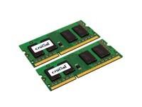 Crucial 4GB (2x2GB) CL6 SO-DIMM