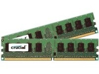 Crucial DDR2 PC2-8500 DIMM 4GB-kit