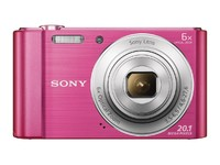"Sony 20M CCD, 2,7"", 720p, Pink"